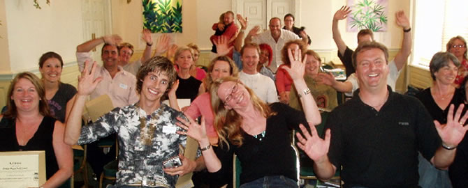 Participants on an NLP World Training | NLP World