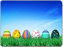 Image with multicolored eggs | NLP World.