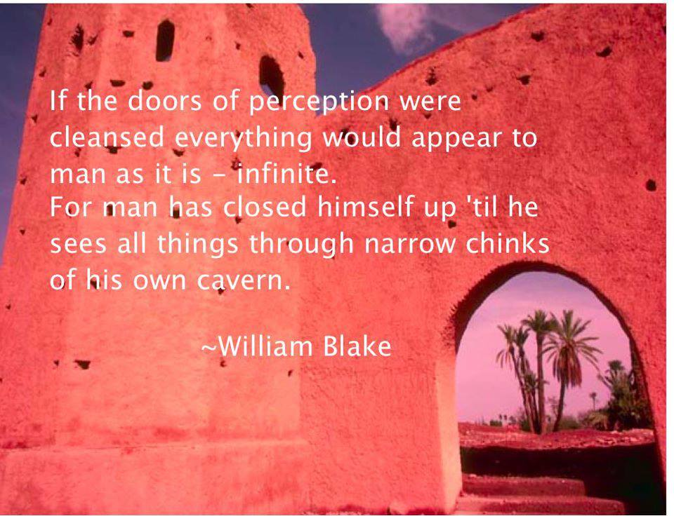 william blake quote about perceptions