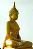 buddha statue to depict it's your mind that creates this world