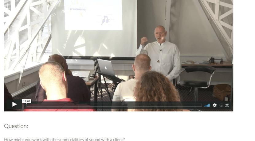 Online Master NLP Practitioner Training